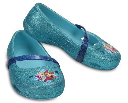 Crocs Lina Frozen Flat Ice boty cena od 579 Kč