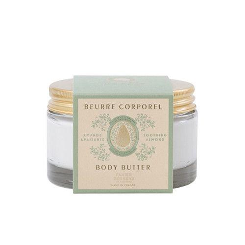 Panier des Sens Panier des Sens Tělové máslo ve skle - Mandle 200ml