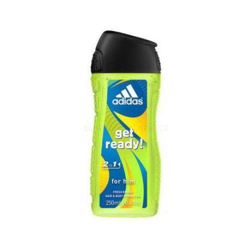 Adidas Sprchový gel pro muže na tělo i vlasy Get Ready! 400 ml