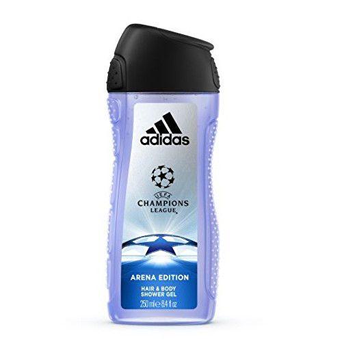 Adidas Sprchový gel pro muže UEFA (Champions League Arena Edition Hair & Body Shower Gel) 250 ml