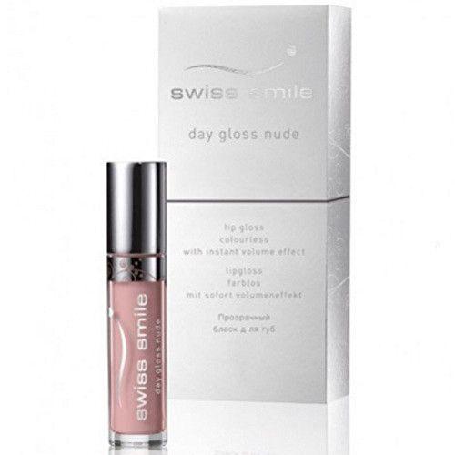 Swiss Smile Lesk pro plnější rty Day Gloss Nude (Lip Gloss) 3,5 ml