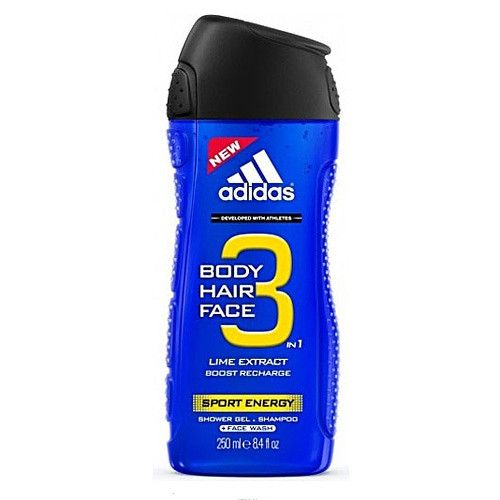 Adidas Sprchový gel pro muže 3 v 1 Sport Energy Shower Gel 400 ml