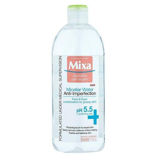 Mixa Micelární voda pro zmatnění pleti s pH 5.5 400 ml