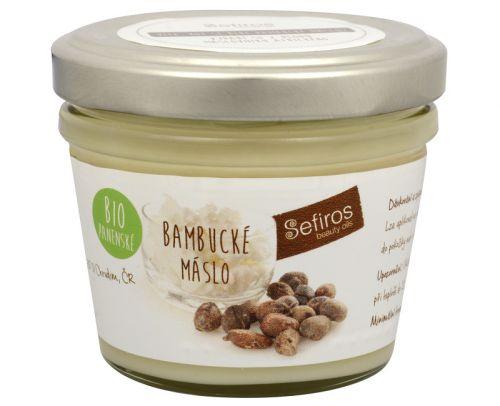 Sefiros Bambucké máslo BIO panenské 80 ml cena od 123 Kč