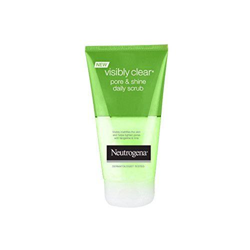 Neutrogena Peeling pro každodenní použití Visibly ClearPore & Shine 150 ml