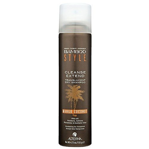 Alterna Suchý šampon na vlasy s vůní manga a kokosu Bamboo Style (Cleanse Extend Translucent Dry Shampoo - Mango Coconut) 150 ml
