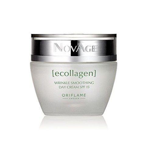 Oriflame Denní vyhlazující krém proti vráskám NovAge Ecollagen SPF 15 50 ml