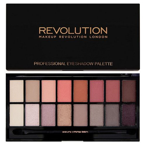Makeup Revolution Paletka očních stínů New-Trals vs Neutrals