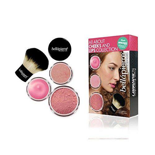 bellápierre Kosmetická sada na tvář a rty Pink Collection