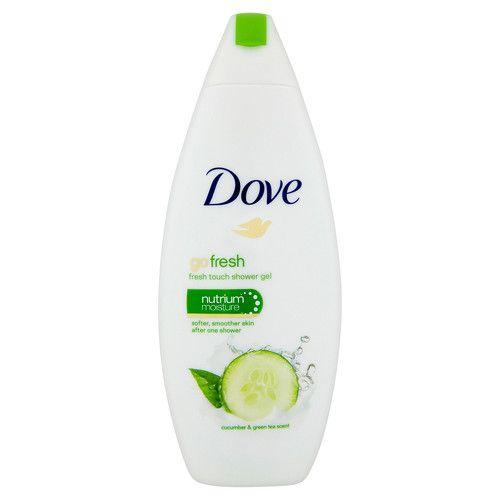 Dove Sprchový gel s vůní okurky a zeleného čaje Go Fresh 500 ml