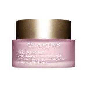 Clarins Denní krém proti jemným vráskám pro všechny typy pleti Multi-Active 50 ml