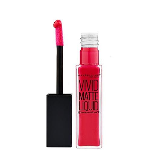Maybelline Lesk na rty Vivid Matte Liquid Color Sensational 15 Electric Pink 8 ml