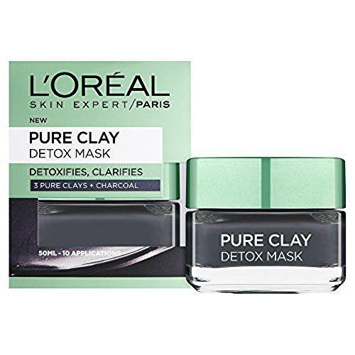 Loreal Paris Intenzivní čisticí rozjasňující maska Pure Clay 50 ml