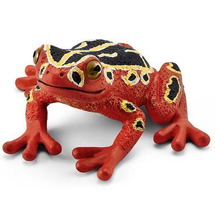 Schleich Žába africká červená 14760