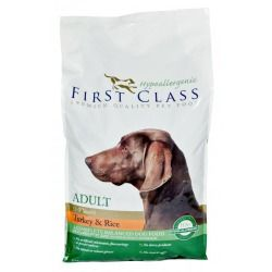 AKINU First Class Dog Hypoallergenic Adult Turkey & Rice 12 kg