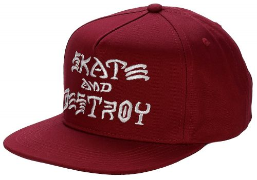 Thrasher Skate & Destory Blood kšiltovka