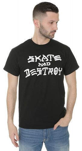 Thrasher Skate & Destory triko