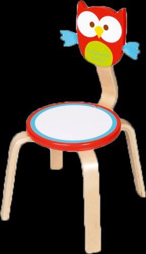 SCRATCH Dřevěná židle Sovička