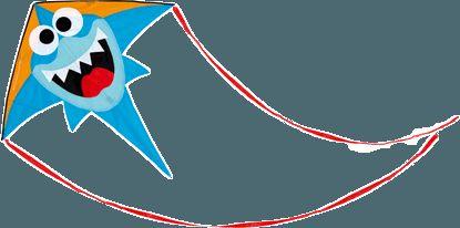SCRATCH Velký létající drak Žralok