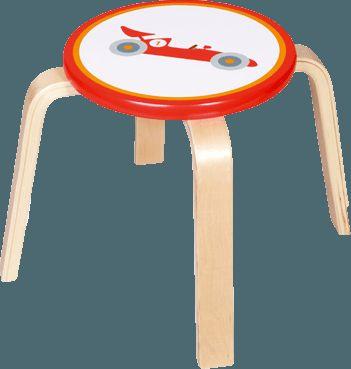 SCRATCH Dřevěná stolička Formule