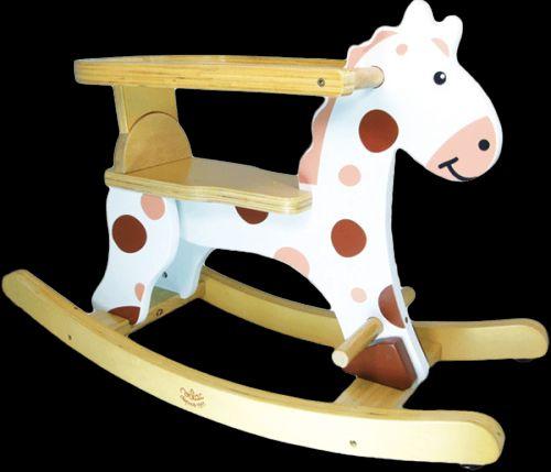 VILAC Dřevěný houpací kůň