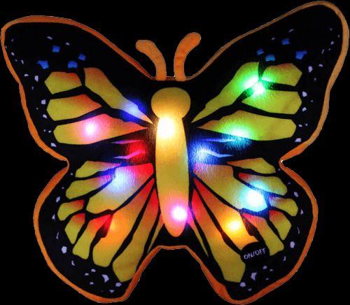 EPLINE Svítící polštář motýl