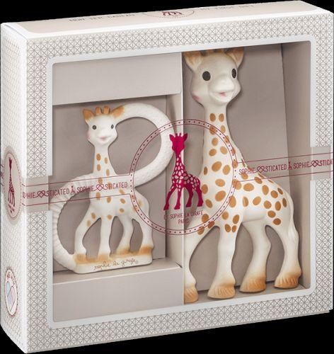 VULLI set žirafa Sophie a kousací kroužek