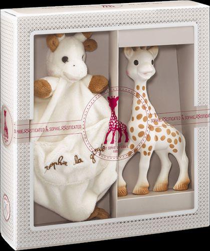 VULLI set žirafa Sophie a mazlík