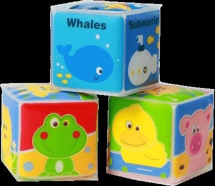 BABY ONO Kostky vzdělávací mini set