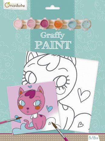 AVENUE MANDARINE Malování na plátno Kočička cena od 218 Kč