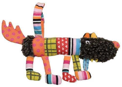 EBULOBO Závěsná hračka Hladový vlk 20 cm