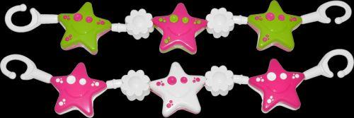 MAAMAA Řetěz kytičkované hvězdy