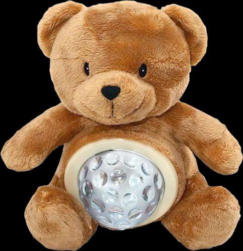 MIKRO TRADING zvířátko plyšové-medvěd lampička