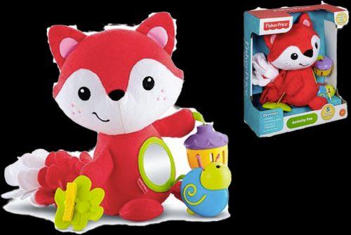 FISHER-PRICE Liška s hračkami