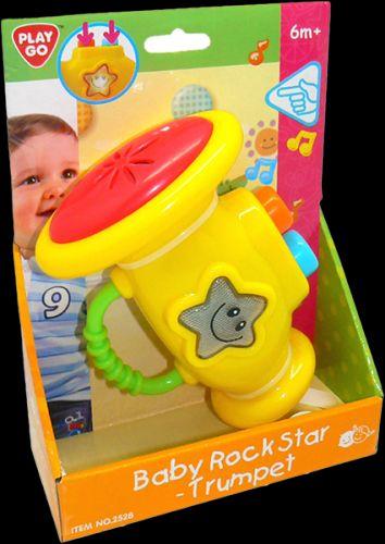 HM STUDIO Trumpeta pro dětskou rockovou hvězdu