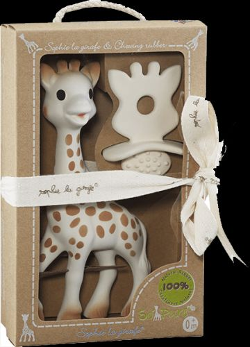 VULLI žirafa Sophie + kousátko z kolekce So'Pure Sophie set