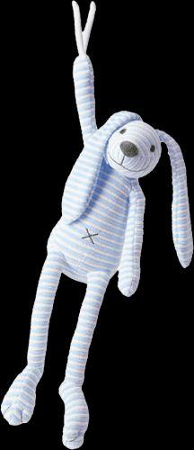 HAPPY HORSE pruhovaný králíček Reece Hudební 37 cm