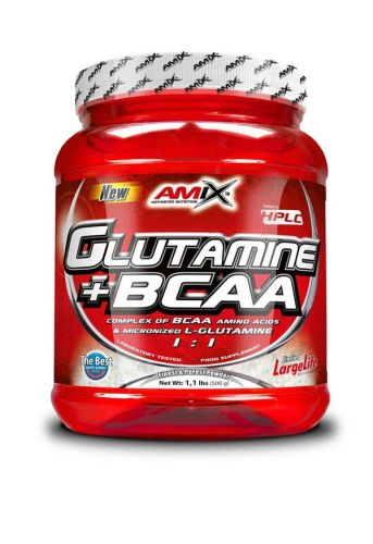 AMIX L-Glutamine + BCAA 500 g