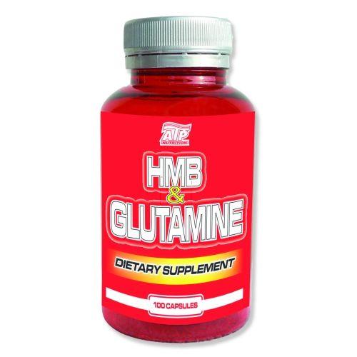 ATP NUTRITION HMB + Glutamine 100 kapslí