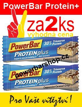 PowerBar Protein plus tyčinka Cappucino karamel 55 g