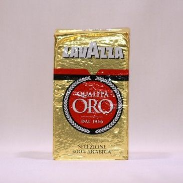 Lavazza Qualita Oro mletá káva 250 g cena od 99 Kč
