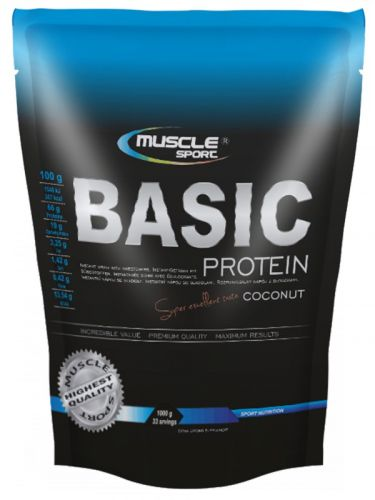 MUSCLE SPORT Basic Protein 1000 g