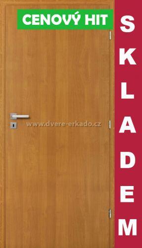ERKADO Interiérové dveře Plné Hladké