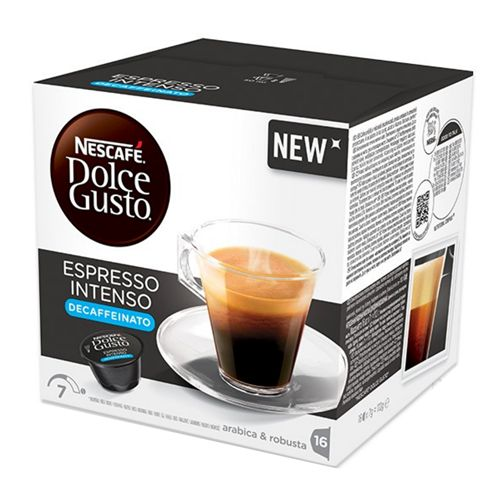 NESCAFÉ Dolce Gusto Espresso Intenso bezkofeinové 16 ks