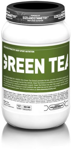 SizeAndSymmetry Green Tea 100 kapslí