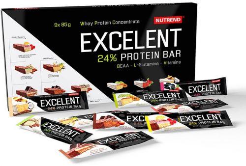 Nutrend Excelent Protein Bar 9x 85 g