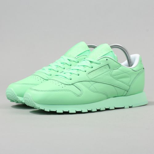 Reebok Classic Leather Pastel Women mint boty