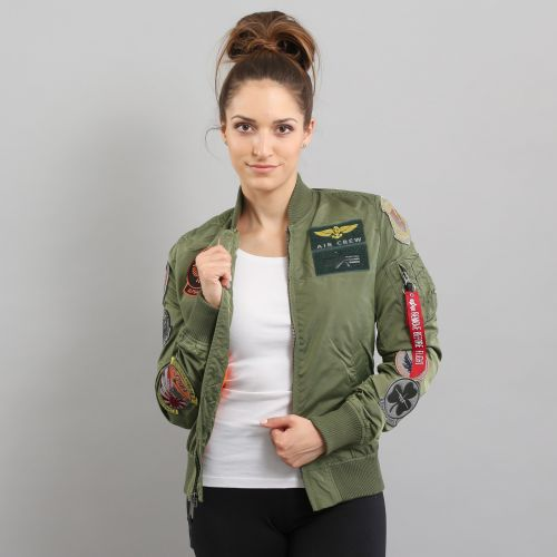 Alpha Industries MA-1 TT Patch Wmns bunda