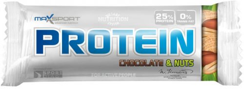 MaxSport Protein Bar jahoda 60 g