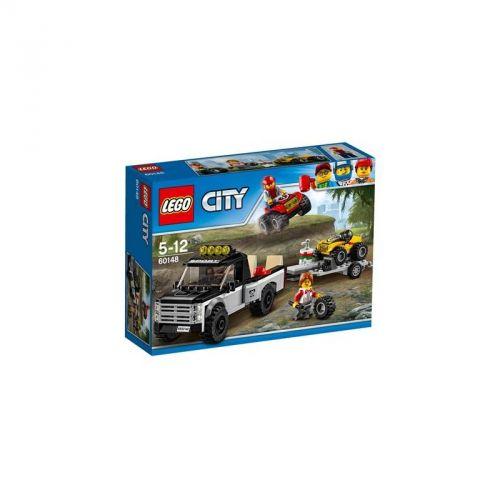 LEGO CITY GREAT VEHICLES Závodní tým čtyřkolek 60148 cena od 388 Kč